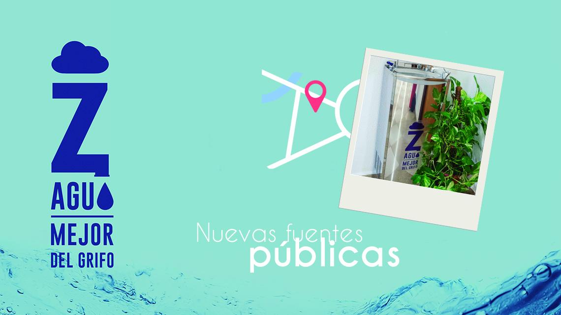 Nuevas fuentes públicas en Zaragoza