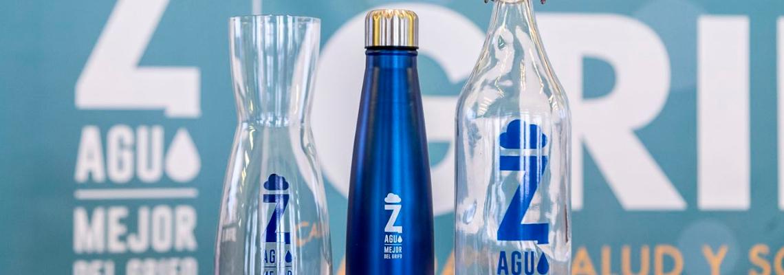 botellas solidarias en zaragoza mejor del grifo